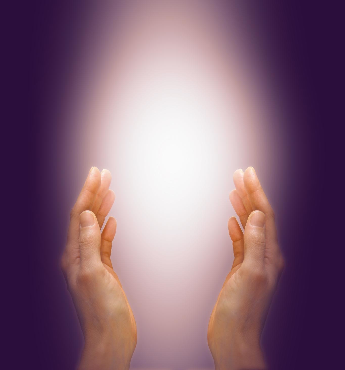 Healing light hands